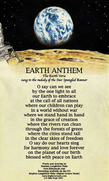 Earth Anthem Poster by Stephen Longfellow Fiske